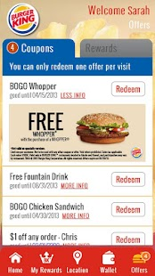BURGER KING® Rewards - screenshot thumbnail