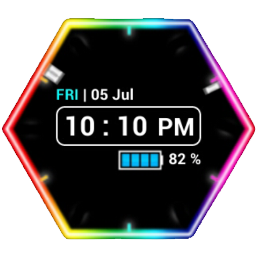 Neon Clock Widget 工具 App LOGO-APP試玩