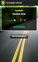 Screenshot of Simulado CNH