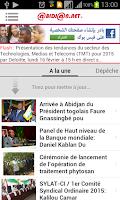 Screenshot of Abidjan.net