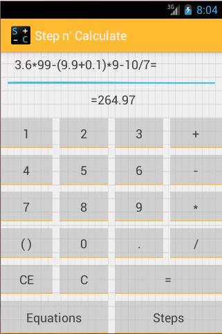 Step n' Calculate