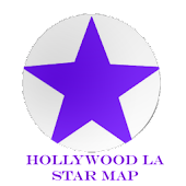 Hollywood LA Star Map