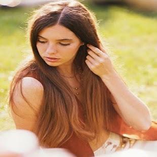 長長的頭髮髮型