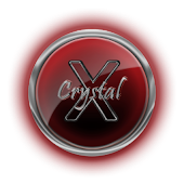 BigDX CrystalX ADW Theme Red