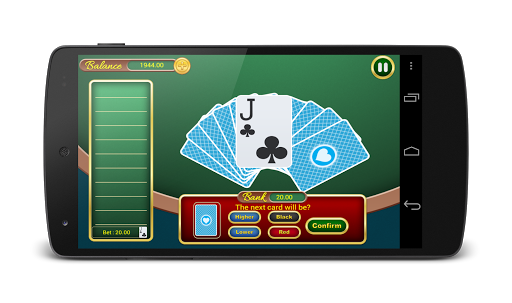Casino Battle—Hi Lo Card Game