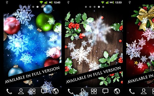Snow Stars Free- screenshot thumbnail