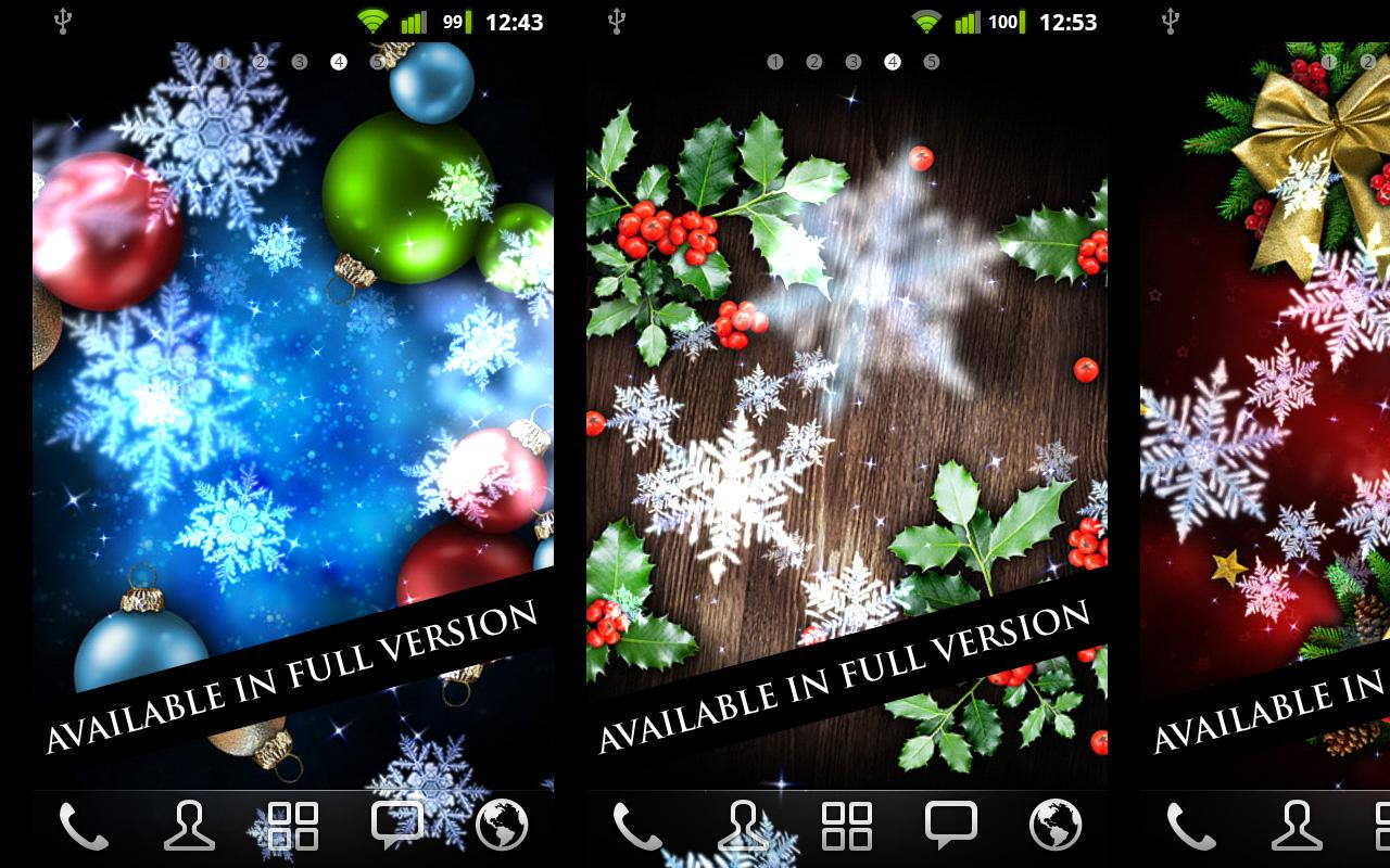 Snow Stars Free - screenshot