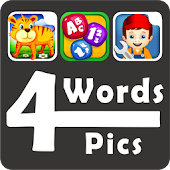 4 Pics 4 Words  - Word Game