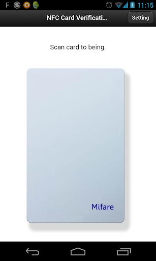 NFC Card Verification