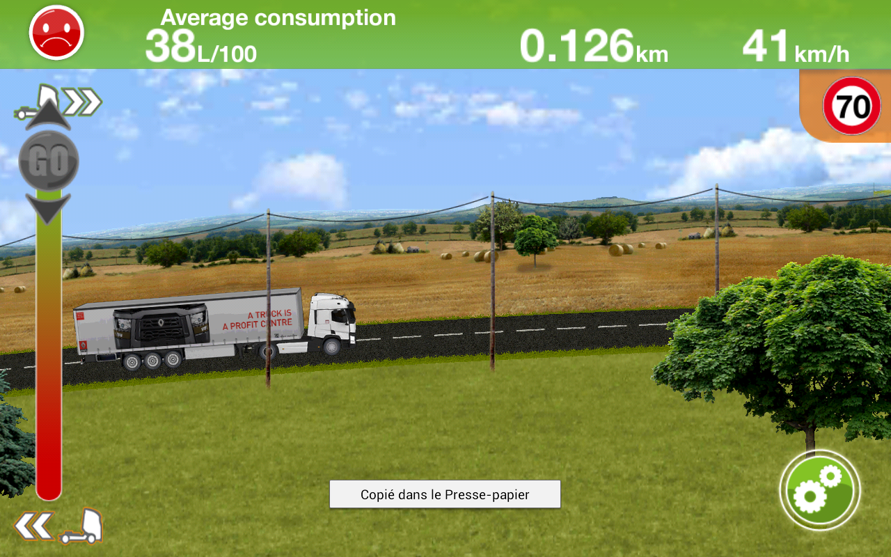 Truck Fuel Eco Driving- screenshot