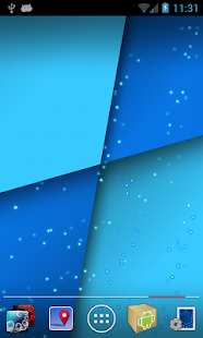 Quadrants Live Wallpaper - screenshot thumbnail