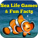 Sea Life Games & Fun Facts icon