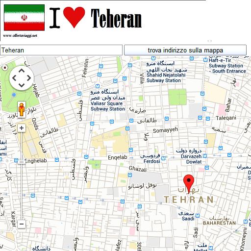 Tehran maps