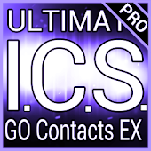 Purple ICS GO Contacts Theme