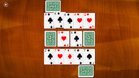 Speed Card Game (Spit Slam)- screenshot thumbnail