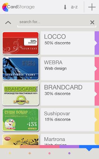 Card Storage