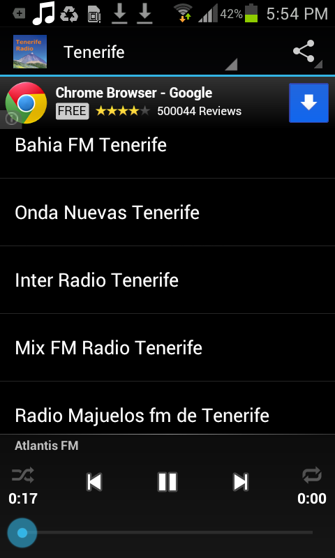 Tenerife Radio- screenshot