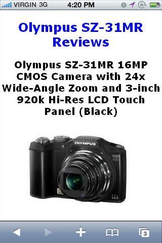 SZ31MR Camera Reviews
