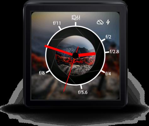 Aperture Watch Face beta