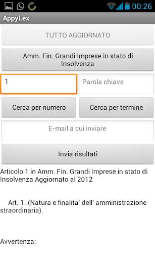 AppyLex Italia LITE
