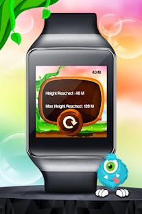 Monster Jump - Android Wear - screenshot thumbnail