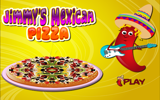 Cooking Mexican Pizza