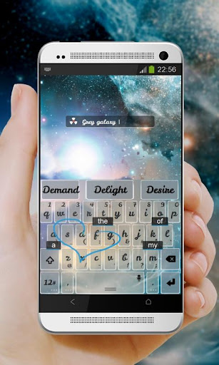 玩個人化App|シャイニーギャラクシーキーボード免費|APP試玩