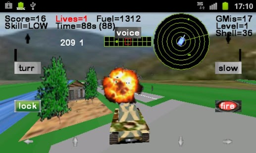 Armour Battle Tank - screenshot thumbnail