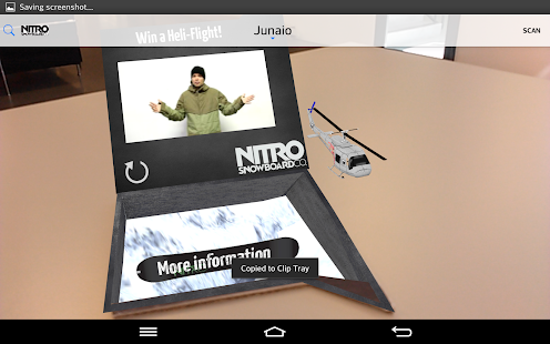 Junaio Augmented Reality- screenshot thumbnail