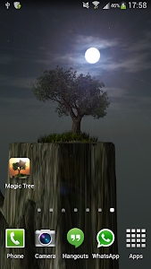 Magic Tree Live Wallpaper screenshot 3