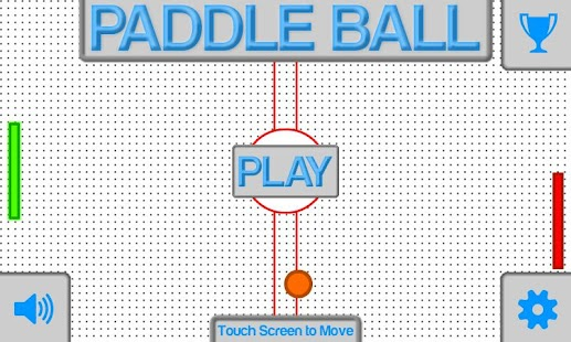 Paddle Ball- screenshot thumbnail