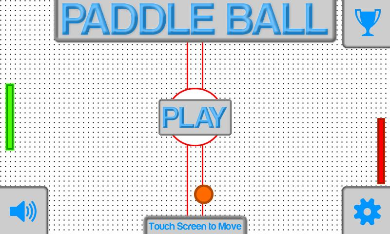 Paddle Ball - screenshot