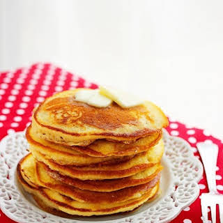 Fluffy Buttermilk Pancakes.