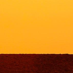 safe by Madhu Payyan Vellatinkara - People Street & Candids ( red, silhouette, yellow, nikon, evening )