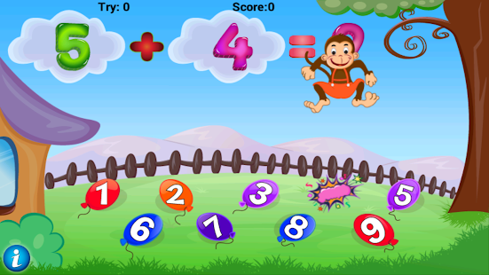 Math Addition Game for Kids - screenshot thumbnail