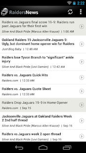 Raiders News - screenshot thumbnail