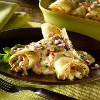 Creamy Chipotle Beef Enchiladas