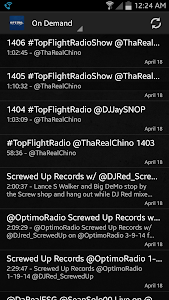 Optimo Radio screenshot 4