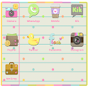 Girly I am Go Launcher icon