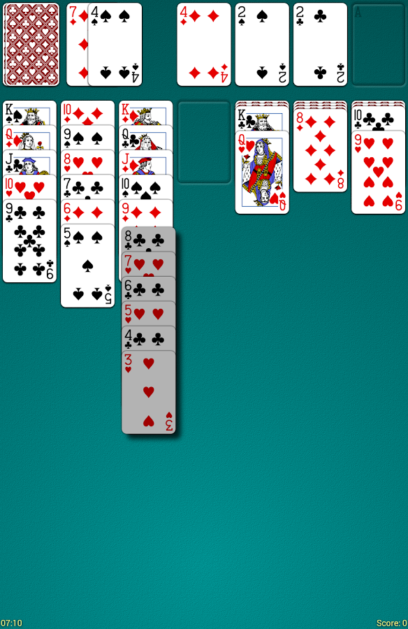 Odesys Solitaire- screenshot