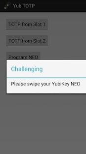 YubiTOTP- screenshot thumbnail