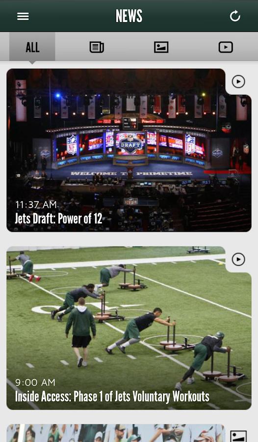 Official New York Jets - screenshot