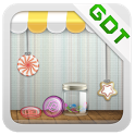 Candy Store GO Getjar Theme icon