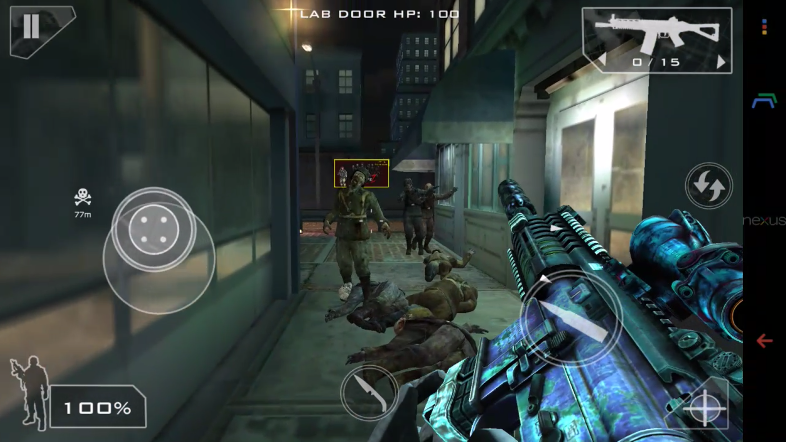 Green Force: Zombies Pro - screenshot