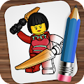Drawing Lego Ninjago