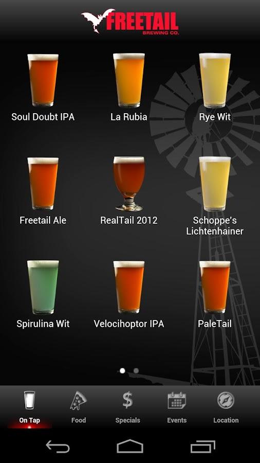 Freetail Brewing Company - screenshot