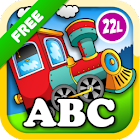 Preschool Learning Games Train icon