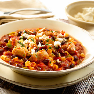 Mexican Minestrone Chicken Stew.