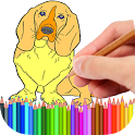 Coloring Book Pets icon