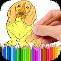 Coloring Book Pets icon